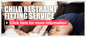 Child restraint fitting service